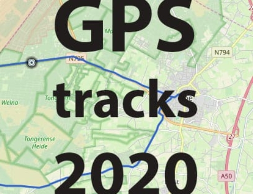 GPS tracks trainingsritten 2020